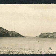 Fotografía antigua: IBIZA. PLAYA. C. 1955. Lote 40206769