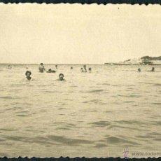 Fotografía antigua: IBIZA. PLAYA. NIÑOS. C. 1955. Lote 40207023