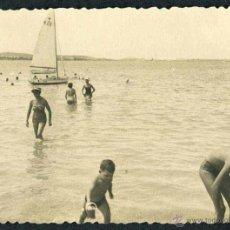 Fotografía antigua: IBIZA. PLAYA. NIÑOS-1. C. 1955. Lote 40207148