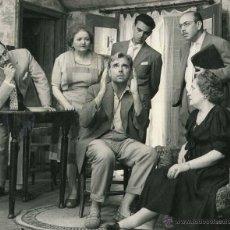 Fotografía antigua: TEATRO CATALÁN. JOAN CAPRI. ACTORES. C. 1960. MANUEL GAUSÀ. BARCELONA.. Lote 40675524