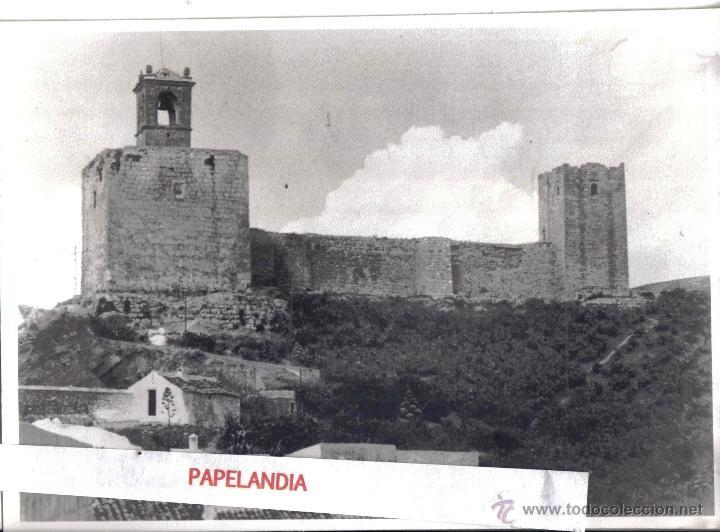 FOTOGRAFIA DE ANTEQUERA, MALAGA. (Fotografía Antigua - Gelatinobromuro)