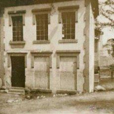Fotografía antigua: ESPONELLÀ. GIRONA. CASAS. CURIOSA IMAGEN. 1943. Lote 41294202
