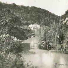 Fotografía antigua: ESPONELLÀ. GIRONA. VISTA DEL RÍO CON MASIA.1943. Lote 41294234