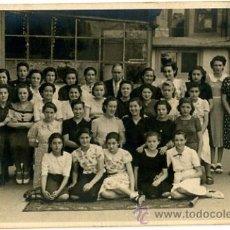 Fotografía antigua: FOTOGRAFIA ANTIGUA. FOTOGRAFIA DE GRUPO ESCOLAR. J. MAYMÓ. BARCELONA 1939 COLEGIO ACADEMIA DURÁN. Lote 41792296