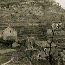 Fotografía antigua: PUEBLO. ERMITA. MASIAS. CATALUNYA. C. 1955. Lote 42060078