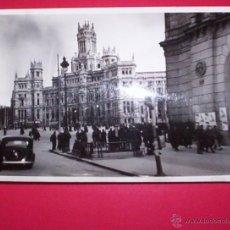 Fotografía antigua: FOTO 1939 FINAL GUERRA CIVIL CIBELES CORREOS MADRID 18X12CM.. Lote 42300863