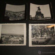 Fotografía antigua: VITORIA AÑOS 40 8 FOTOGRAFÍAS POR M. SALINAS, VISTAS, CARROUSEL, PARQUE, ETC... Lote 42374770