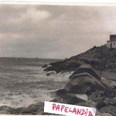 Fotografía antigua: FOTOGRAFIA IBIZA (BALEARES) PUERTO DE IBIZA, DIQUE DE BOTAFOCH, TEMPORAL 15 MARZO 1953. Lote 42618131