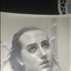 Fotografía antigua: MAGNIFICA Y GRAN FOTO DE LA DOLOROSA DE SALCILLO (MURCIA) ALTA CALIDAD. Lote 43119788