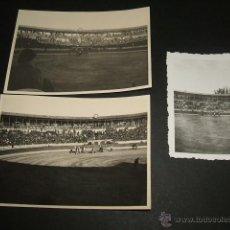 Fotografía antigua: BURGOS GUERRA CIVIL CONJUNTO 7 FOTOGRAFIAS PLAZA DE TOROS EN CORRIDA POR SOLDADO LEGION CONDOR. Lote 43319424