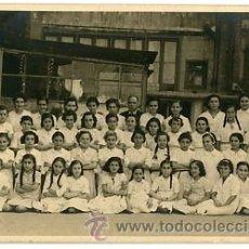 Fotografía antigua: FOTOGRAFIA ANTIGUA. FOTOGRAFIA DE GRUPO ESCOLAR. J. MAYMÓ. BARCELONA 1939. COLEGIO ACADEMIA DURÁN. Lote 43374340