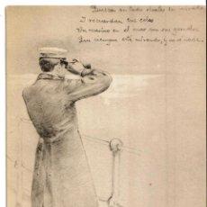 Fotografía antigua: CAMPOAMOR, SERIE HUMORADAS IV, HAUSER Y MENET MADRID. ILUSTRADOR CARCEDO.. Lote 43532434