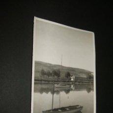 Fotografía antigua: PLENCIA VIZCAYA RIA FOTOGRAFIA AÑOS 40 9 X 13 CMTS. Lote 43546265