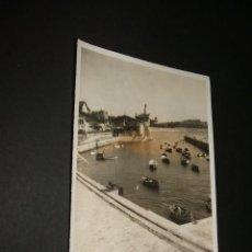 Fotografía antigua: NEGURI VIZCAYA PUERTO PESQUERO FOTOGRAFIA AÑOS 40 9 X 13 CMTS. Lote 43546287
