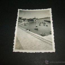 Fotografía antigua: NEGURI VIZCAYA PUERTO PESQUERO FOTOGRAFIA 1946 6 X 4,5 CMTS. Lote 43546390
