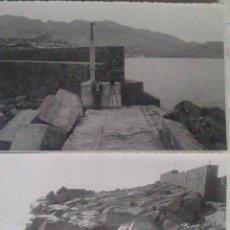Alte Fotografie - DOS FOTOGRAFIAS ALTEA (ALICANTE), RECONSTRUCCION DIQUE, FOTOGRAFO Y CAMARA , 12 X 18 CM, AÑO 53 - 43561853