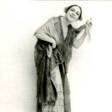 Fotografía antigua: EUGENIA ZÚFFOLI, POR ANTONIO CALVACHE, 1922.. Lote 43629275