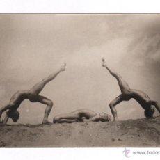 Fotografía antigua: JOSEPH BAYER, CULTURE PHYSIQUE, AÑO 1927. 8,3X13 CM. NATURISMO ALEMÁN, DESNUDOS.. Lote 43657085