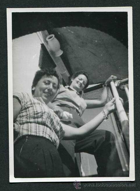 HACÍA IBIZA. CIUDAD DE MAHÓN. 8/1954 (Fotografía Antigua - Gelatinobromuro)
