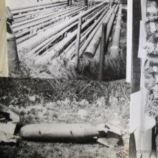 Fotografía antigua: CUBA - ATAQUE REFINERÍA ÑICO LOPEZ 1961 - 3 FOTOGRAFÍAS. Lote 43975879