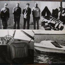 Fotografía antigua: CUBA - 4 FOTOGRAFÍAS CAPTURA BANDA DE LA CIA - 1968. Lote 43976395