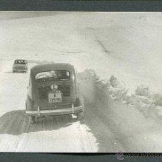 Fotografía antigua: ANDORRA. PORT D'ENVALIRA. ERA DEL SEISCIENTOS. NIEVE. 1961-2. Lote 44053236