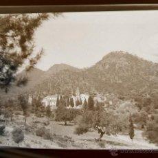 Fotografía antigua: GILET VALENCIA MONASTERIO SANTO ESPIRITU Y CAMPAMENTO CONJUNTO 10 NEGATIVOS AÑOS 40. Lote 44083621