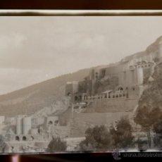 Fotografía antigua: BENAGEBER VALENCIA CONSTRUCCION DEL EMBALSE Y PUEBLO NUEVO CONJUNTO 10 NEGATIVOS AÑO 1949. Lote 44122183