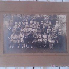 Fotografía antigua: ANTIGUA FOTOGRAFÍA ALUMNOS DE COLEGIO.. Lote 44140860