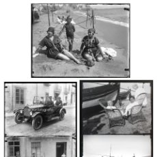 Fotografía antigua: ARENYS DE MAR, 1915'S. ARCHIVO DE 450 CRISTALES NEGATIVOS DEL FOTÓGRAFO JOAQUIM CASTELLS (1874-1941). Lote 44337480