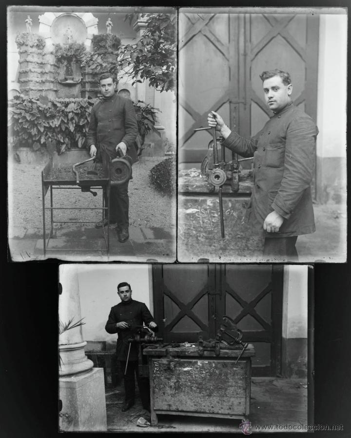Fotografía antigua: Arenys de Mar, 1915s. Archivo de 450 cristales negativos del fotógrafo Joaquim Castells (1874-1941) - Foto 6 - 44337480