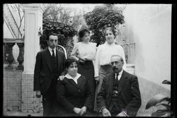 Fotografía antigua: Arenys de Mar, 1915s. Archivo de 450 cristales negativos del fotógrafo Joaquim Castells (1874-1941) - Foto 7 - 44337480