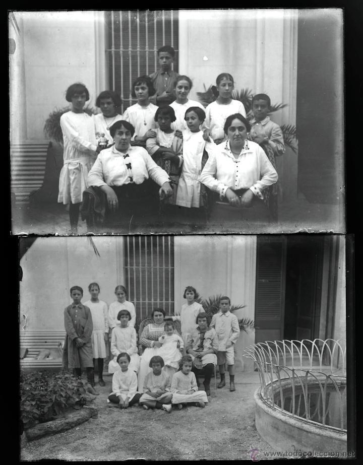 Fotografía antigua: Arenys de Mar, 1915s. Archivo de 450 cristales negativos del fotógrafo Joaquim Castells (1874-1941) - Foto 8 - 44337480