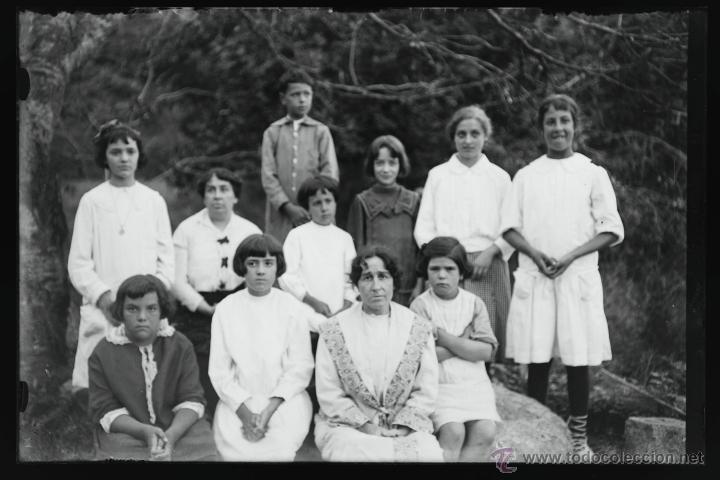 Fotografía antigua: Arenys de Mar, 1915s. Archivo de 450 cristales negativos del fotógrafo Joaquim Castells (1874-1941) - Foto 9 - 44337480