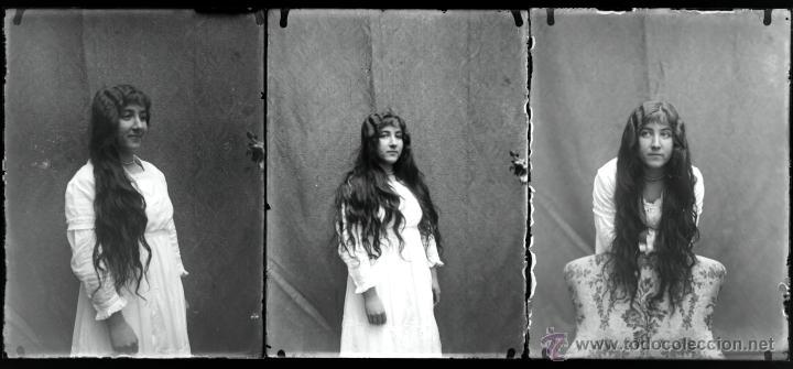 Fotografía antigua: Arenys de Mar, 1915s. Archivo de 450 cristales negativos del fotógrafo Joaquim Castells (1874-1941) - Foto 10 - 44337480