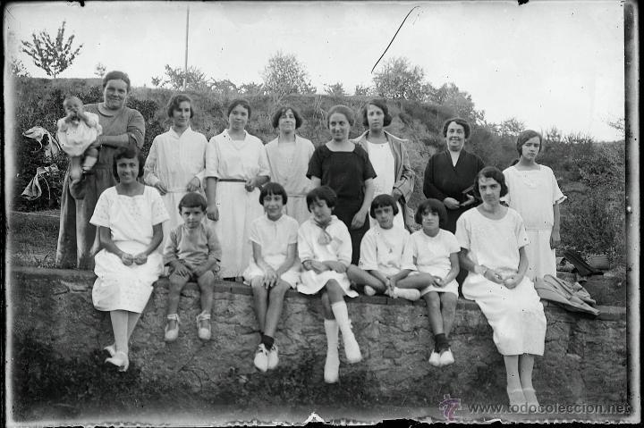 Fotografía antigua: Arenys de Mar, 1915s. Archivo de 450 cristales negativos del fotógrafo Joaquim Castells (1874-1941) - Foto 11 - 44337480
