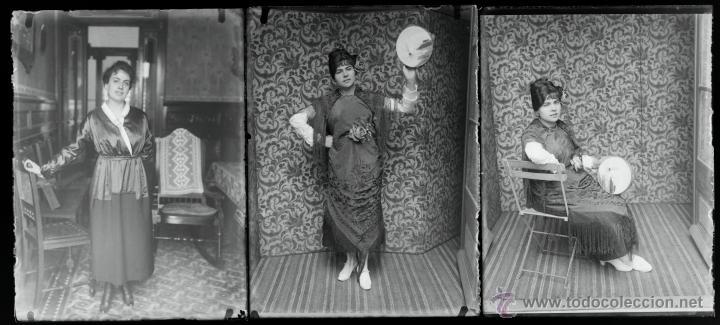 Fotografía antigua: Arenys de Mar, 1915s. Archivo de 450 cristales negativos del fotógrafo Joaquim Castells (1874-1941) - Foto 12 - 44337480