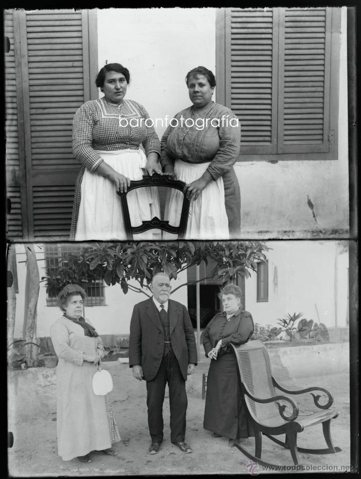 Fotografía antigua: Arenys de Mar, 1915s. Archivo de 450 cristales negativos del fotógrafo Joaquim Castells (1874-1941) - Foto 13 - 44337480