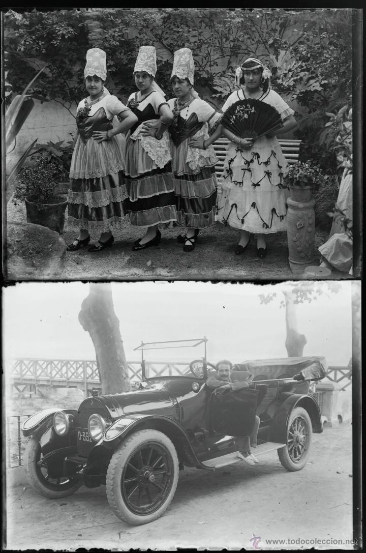 Fotografía antigua: Arenys de Mar, 1915s. Archivo de 450 cristales negativos del fotógrafo Joaquim Castells (1874-1941) - Foto 14 - 44337480