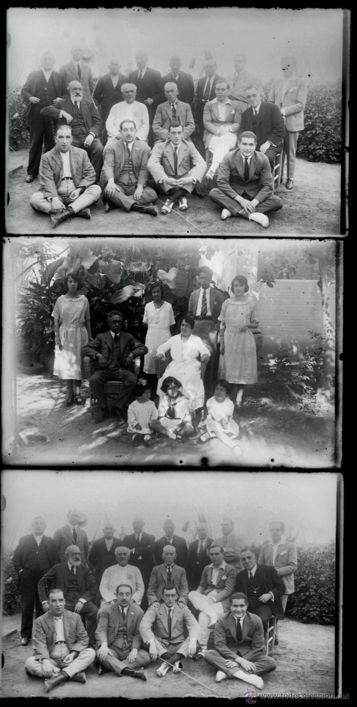 Fotografía antigua: Arenys de Mar, 1915s. Archivo de 450 cristales negativos del fotógrafo Joaquim Castells (1874-1941) - Foto 16 - 44337480