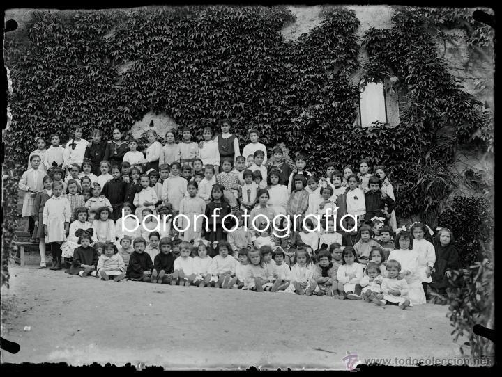 Fotografía antigua: Arenys de Mar, 1915s. Archivo de 450 cristales negativos del fotógrafo Joaquim Castells (1874-1941) - Foto 20 - 44337480
