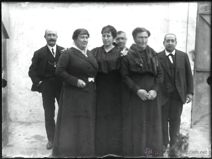 Fotografía antigua: Arenys de Mar, 1915s. Archivo de 450 cristales negativos del fotógrafo Joaquim Castells (1874-1941) - Foto 21 - 44337480