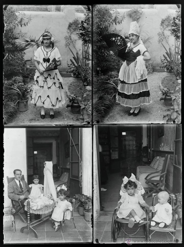 Fotografía antigua: Arenys de Mar, 1915s. Archivo de 450 cristales negativos del fotógrafo Joaquim Castells (1874-1941) - Foto 24 - 44337480