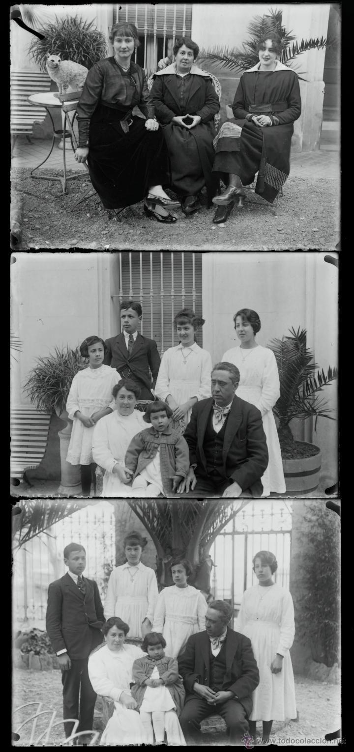 Fotografía antigua: Arenys de Mar, 1915s. Archivo de 450 cristales negativos del fotógrafo Joaquim Castells (1874-1941) - Foto 25 - 44337480
