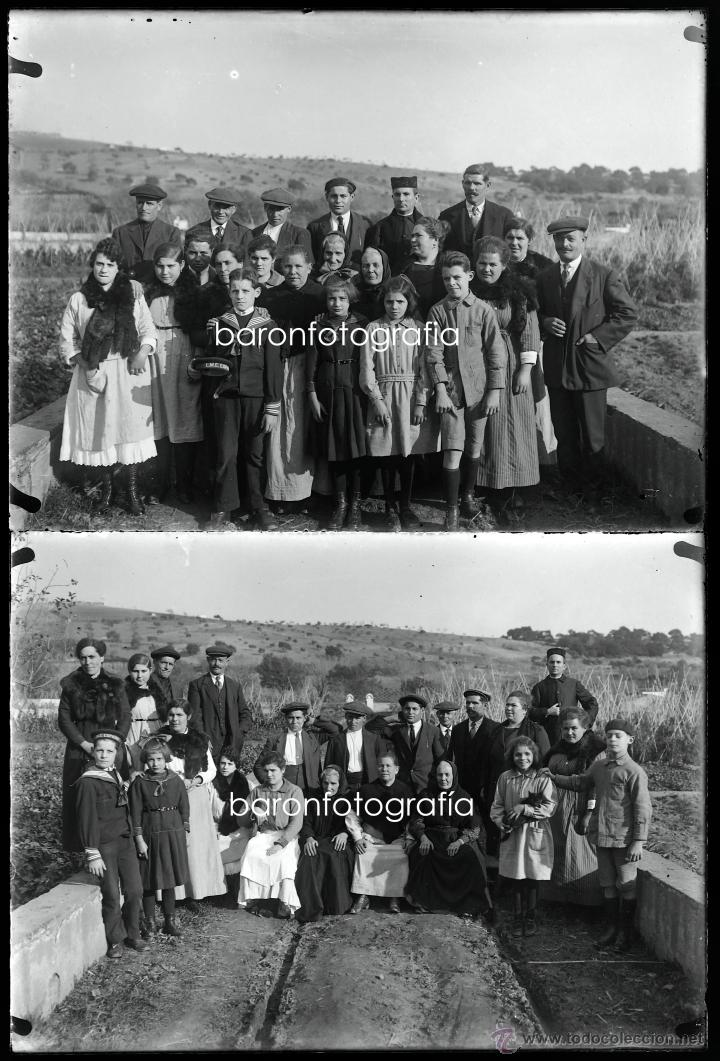 Fotografía antigua: Arenys de Mar, 1915s. Archivo de 450 cristales negativos del fotógrafo Joaquim Castells (1874-1941) - Foto 26 - 44337480