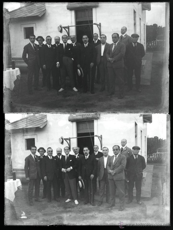 Fotografía antigua: Arenys de Mar, 1915s. Archivo de 450 cristales negativos del fotógrafo Joaquim Castells (1874-1941) - Foto 29 - 44337480