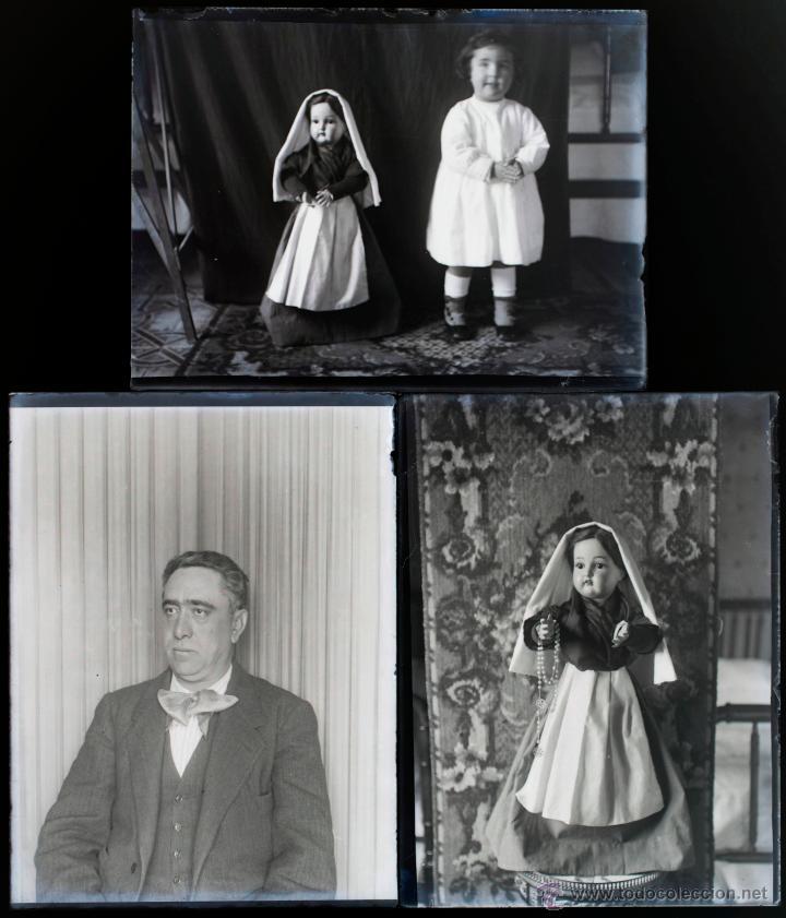 Fotografía antigua: Arenys de Mar, 1915s. Archivo de 450 cristales negativos del fotógrafo Joaquim Castells (1874-1941) - Foto 32 - 44337480