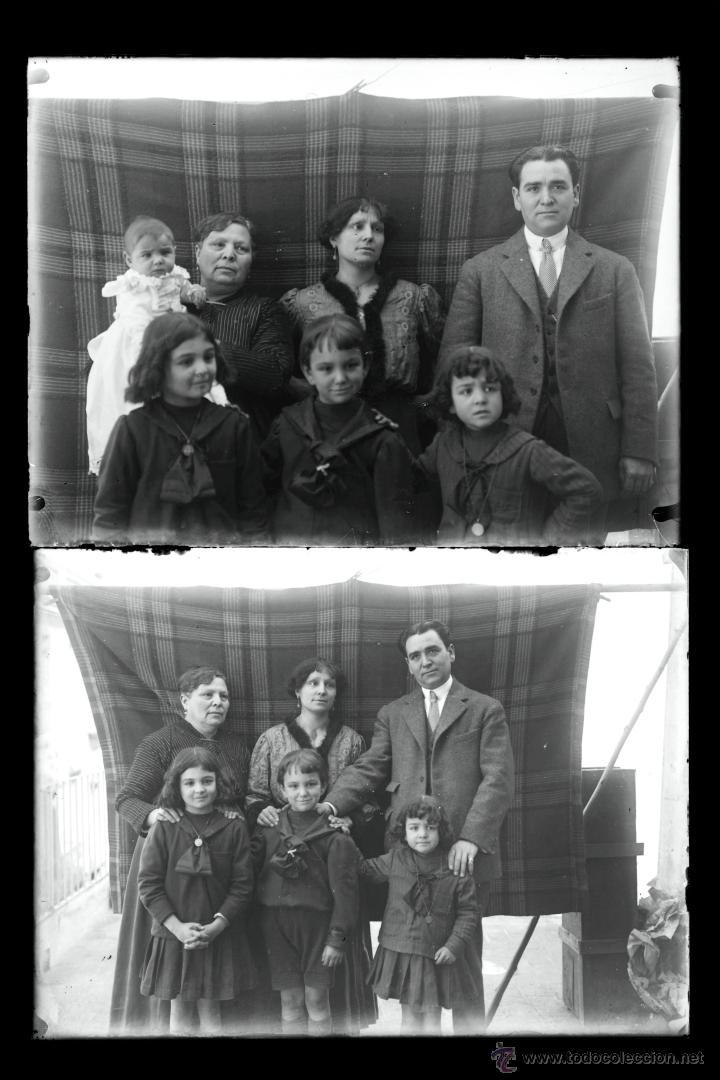 Fotografía antigua: Arenys de Mar, 1915s. Archivo de 450 cristales negativos del fotógrafo Joaquim Castells (1874-1941) - Foto 33 - 44337480