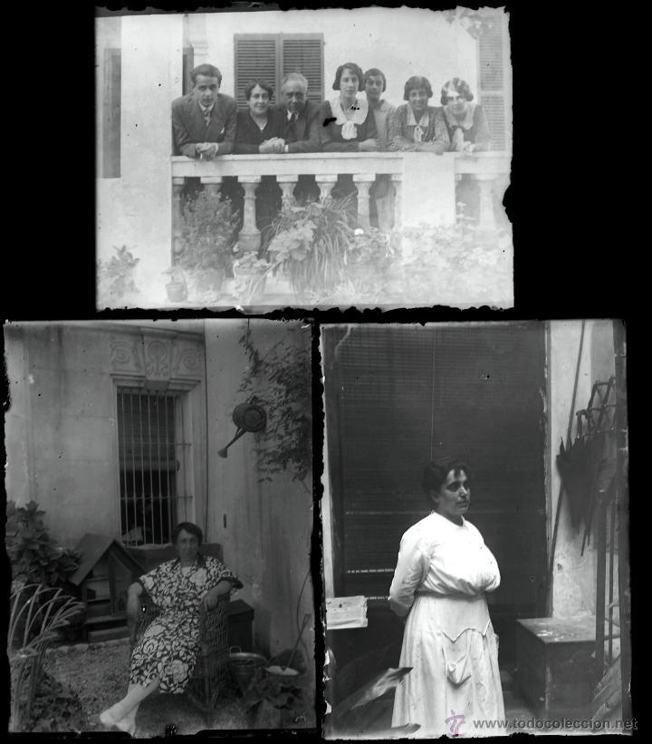 Fotografía antigua: Arenys de Mar, 1915s. Archivo de 450 cristales negativos del fotógrafo Joaquim Castells (1874-1941) - Foto 42 - 44337480
