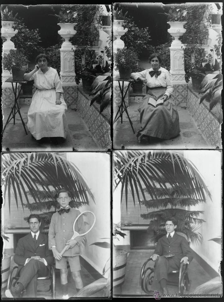 Fotografía antigua: Arenys de Mar, 1915s. Archivo de 450 cristales negativos del fotógrafo Joaquim Castells (1874-1941) - Foto 43 - 44337480